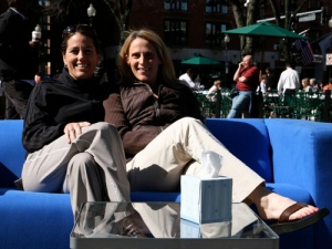 Julie Foudy and Kristine Lilly - US Women's Soccer Heroes