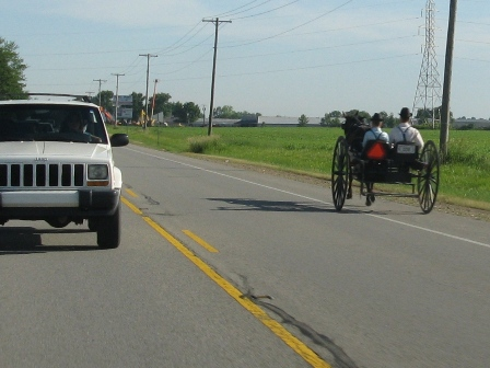 US automakers & the Amish. Going in different directions?