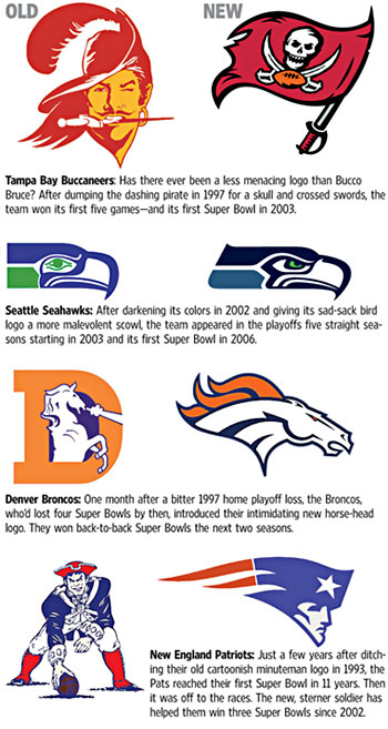 New logos? Or new talent = Super Bowl