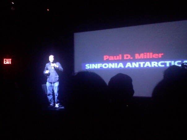 DJ Spooky at Pecha Kucha talks about his Sinfonia Antarctica project