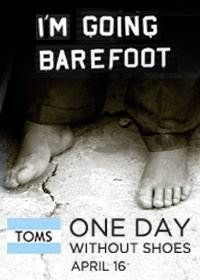 One Day Without Shoes - April 16