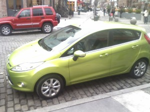 The Ford Fiesta, coming in 2010